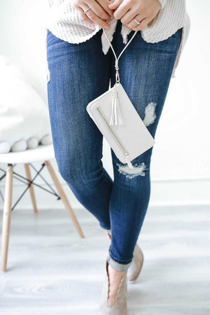 Faux Leather Wallet - Online Clothing Boutique