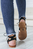 CONVOY-S Gladiator Sandals - Online Clothing Boutique