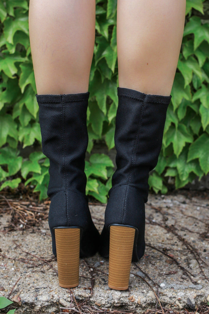 Almond Toe Mid Calf Block Heel Boots Pharma-01