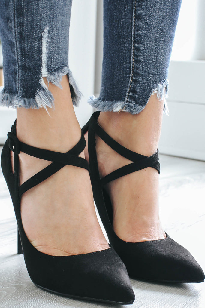 Diana-01 Pointed Toe Heels - Online Clothing Boutique