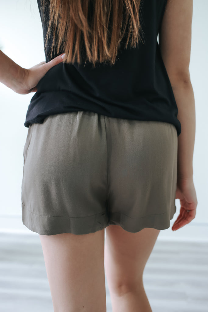 Woven Shorts - Online Clothing Boutique