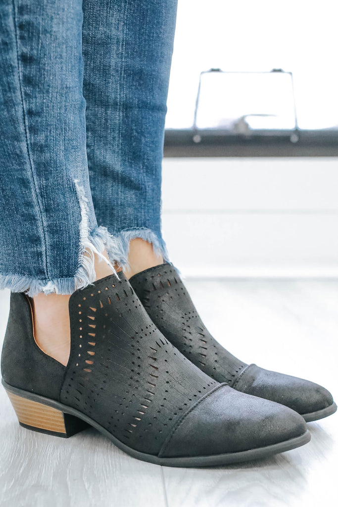 Weekend-29 Ankle Booties - Online Clothing Boutique
