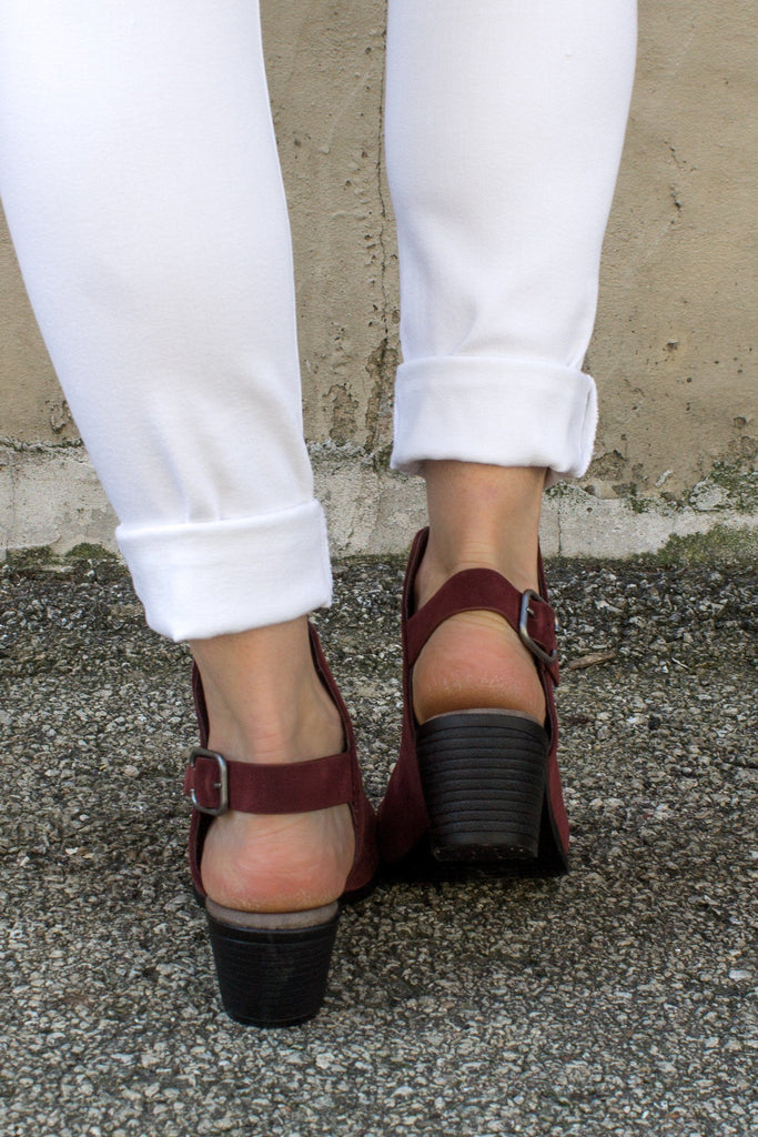 Sorrento-4 Slingback Mules - Online Clothing Boutique