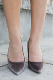 Ogden-A Velvet Heels - Online Clothing Boutique