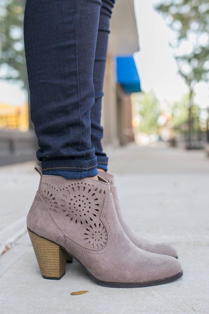 Nixon-36 Ankle Booties - Online Clothing Boutique