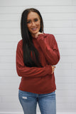 Red Hooded Sweatshirt - Online Clothing Boutique