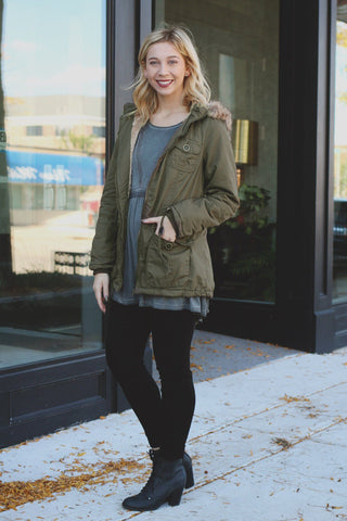 Cozy Cadet Coat