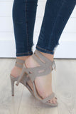 Keena-S Open Toe High Heels - Online Clothing Boutique
