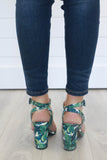 ALONA-05 Tropical High Heels - Online Clothing Boutique