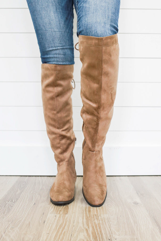 Clause-S Knee High Boots - Online Clothing Boutique