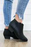 Mug-S Faux Leather Ankle Booties - Online Clothing Boutique
