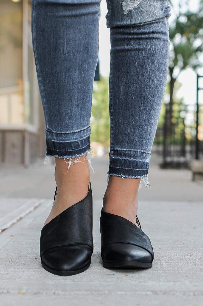 Cut Out Booties - Online Clothing Boutique
