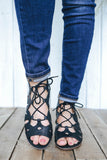Dalles-S Open Toe Heeled Sandals - Online Clothing Boutique