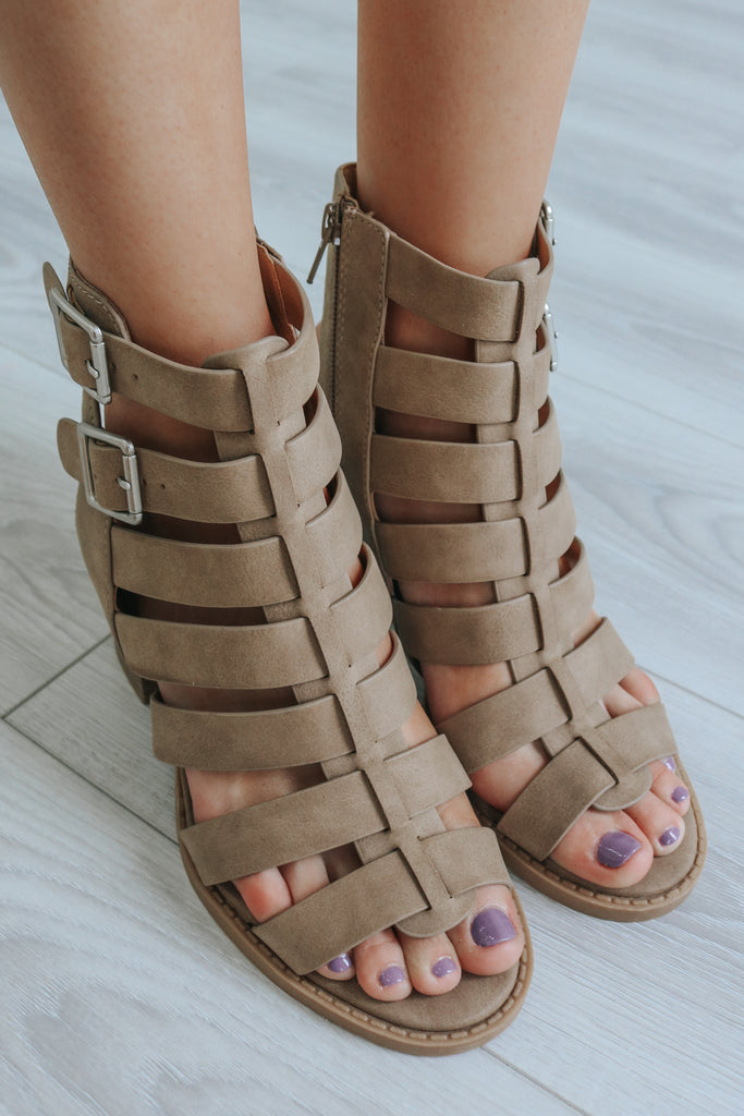 NETWORK-S Strappy Heels - Online Clothing Boutique