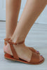 Hannah-S Flat Sandals - Online Clothing Boutique