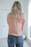 Collared Button Up Top - Online Clothing Boutique