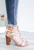 morgan-26 Strappy Heels - Online Clothing Boutique