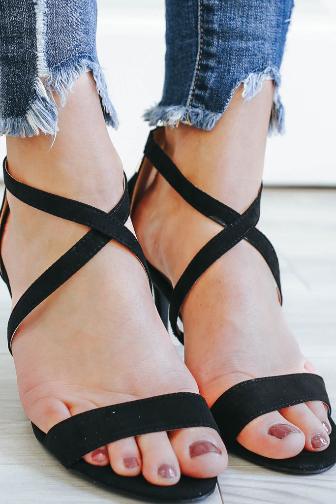 Lita-37 Strappy Heels - Online Clothing Boutique