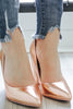 Kaiden-S Metallic Heels - Online Clothing Boutique