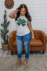 Clover Graphic Tee | Stylish & Affordable | UOI Online