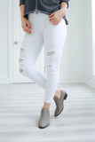 White Distressed Denim - Online Clothing Boutique