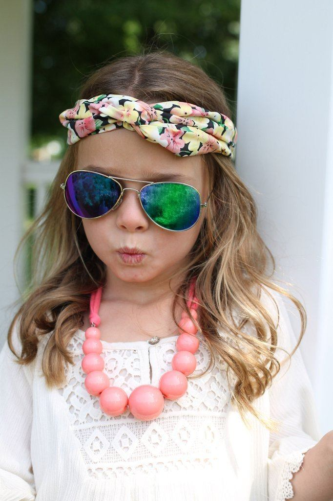 Kids Bauble Statement Bib Necklace