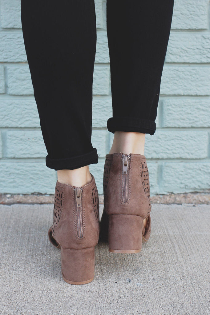 Rise Booties - Taupe