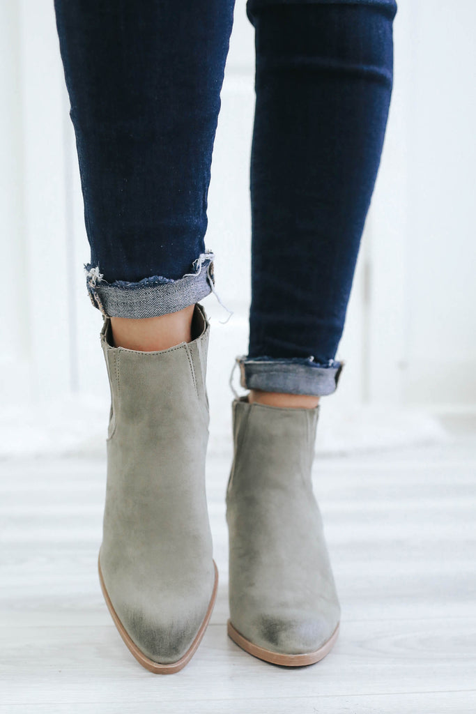 Tiber-12 Ankle Booties - Online Clothing Boutique