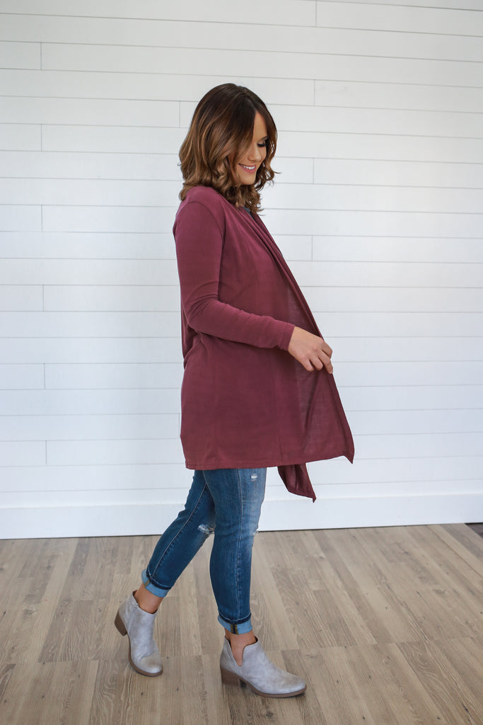 Lightweight Cardigan - Online Clothing Boutique