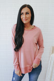 High Low Sweatshirt - Online Clothing Boutique