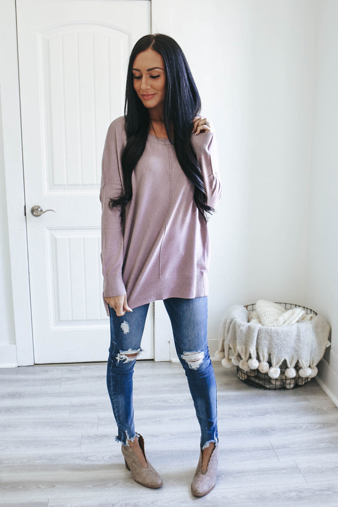 Lightweight Sweater - Online Clothing Boutique