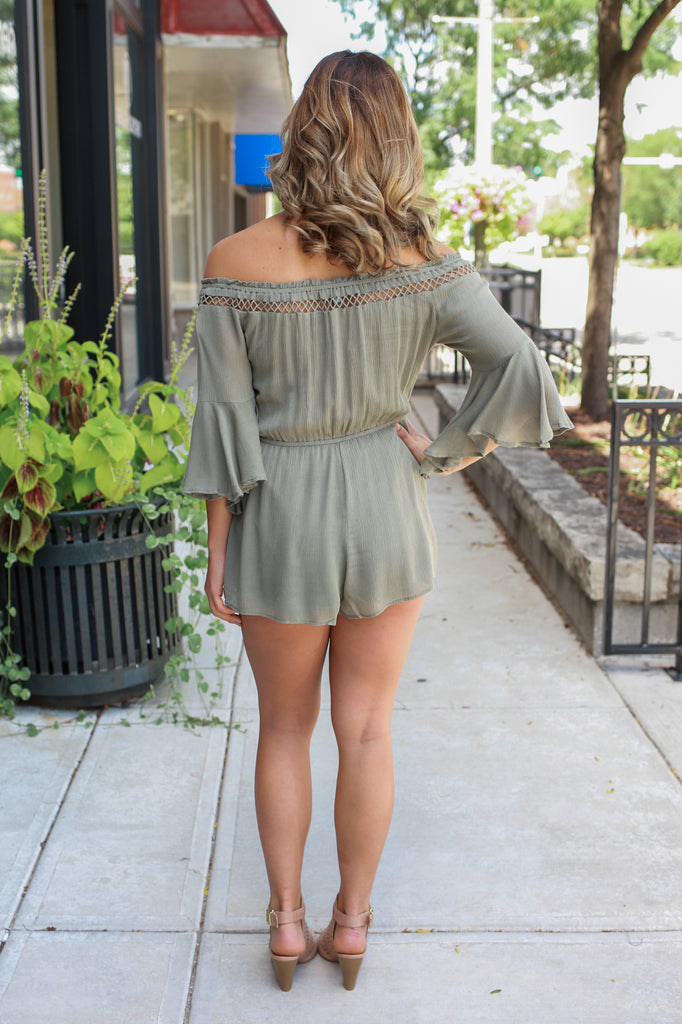 Leaves & Luster Romper