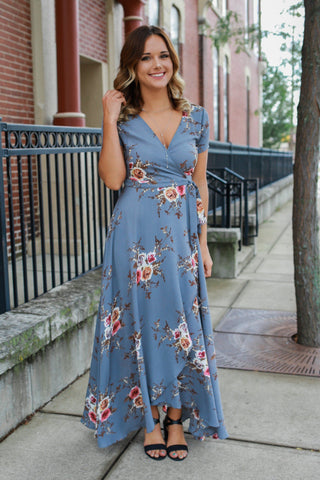 Peace in Paradise Dress - Sage