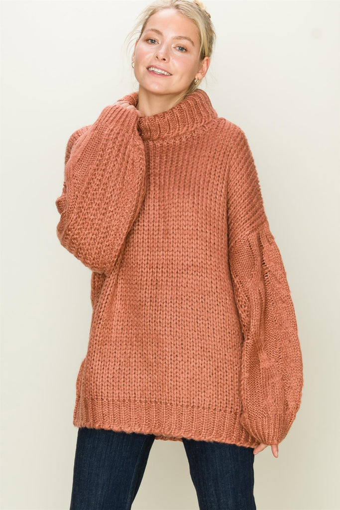 Cowl Neck Sweater | Stylish & Affordable | UOI Online