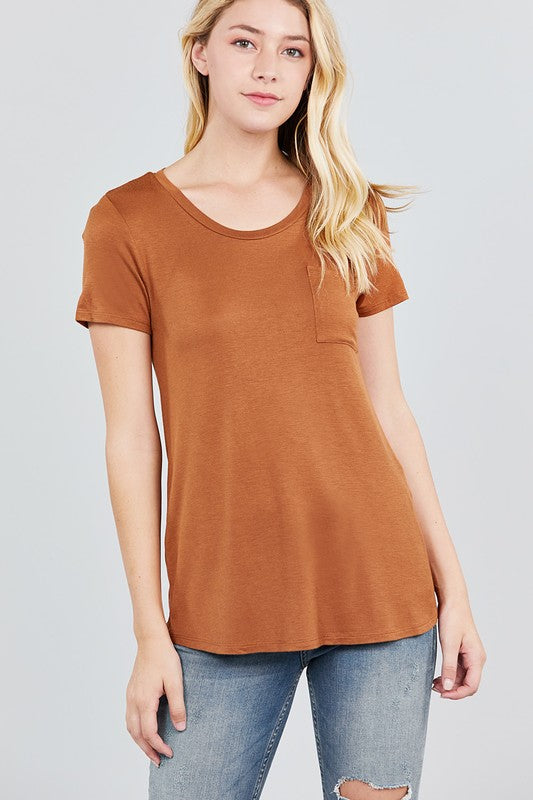 Basic Pocket Tee | Stylish & Affordable | UOI Online