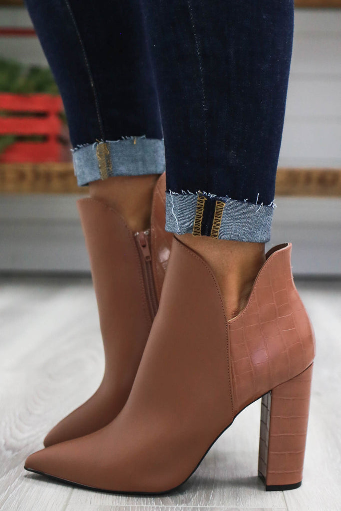 Pointed Toe Booties | Stylish & Affordable | UOI Online