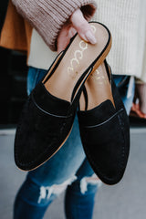 Faux Suede Mules | Stylish & Affordable | UOI Online