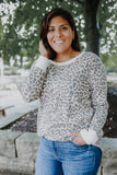 Long Sleeve Leopard Print Thermal Top | Stylish & Affordable | UOI Online