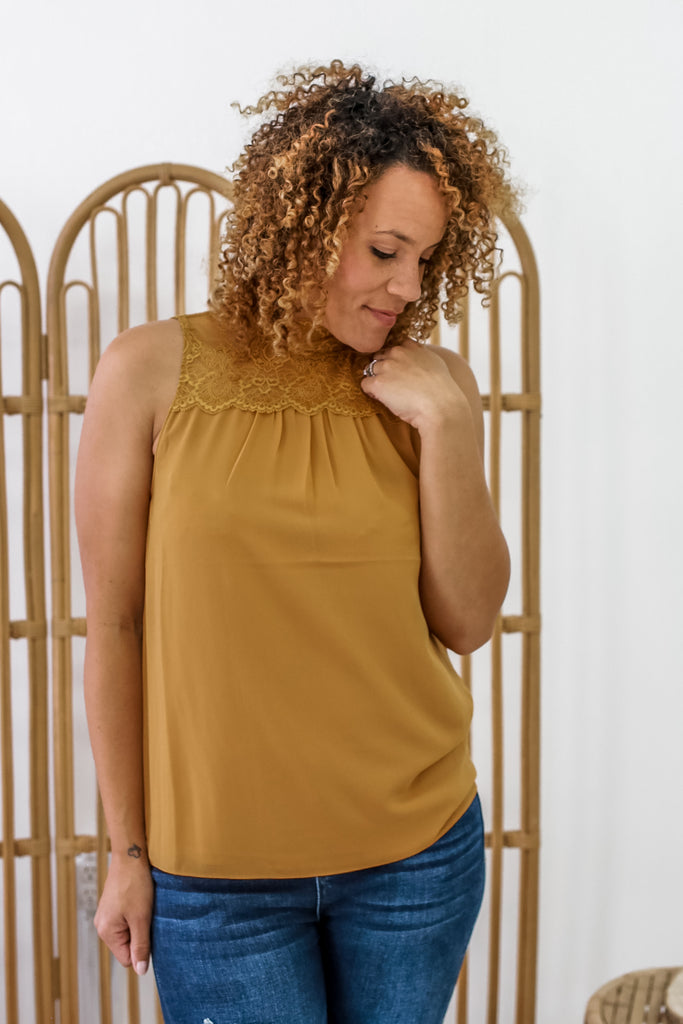 Mock Neck Tank | Stylish & Affordable | UOI Online