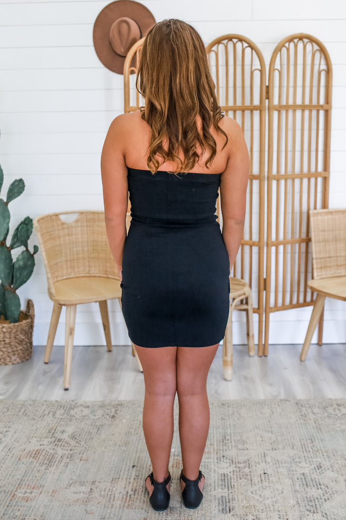 Strapless Bodycon Dress | Stylish & Affordable | UOI Online