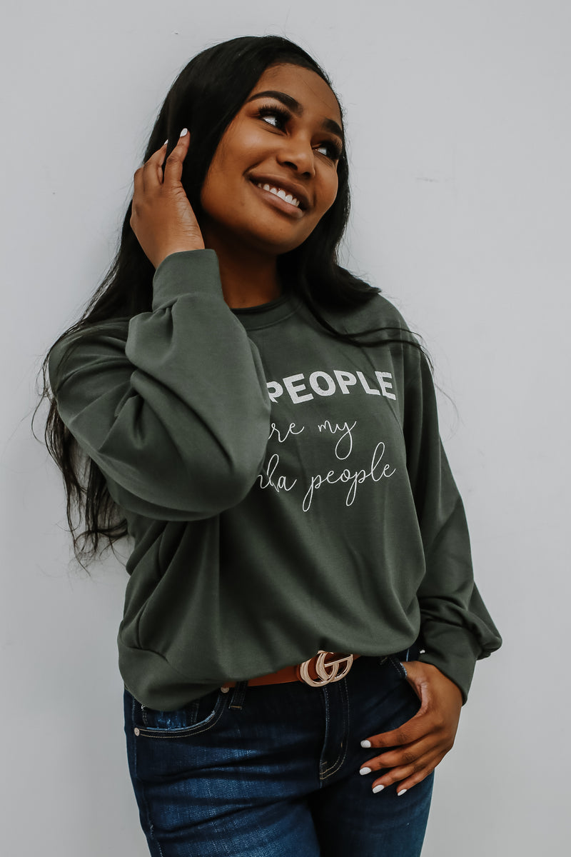 Crew Neck Graphic Sweatshirt | Stylish & Affordable | UOI Online