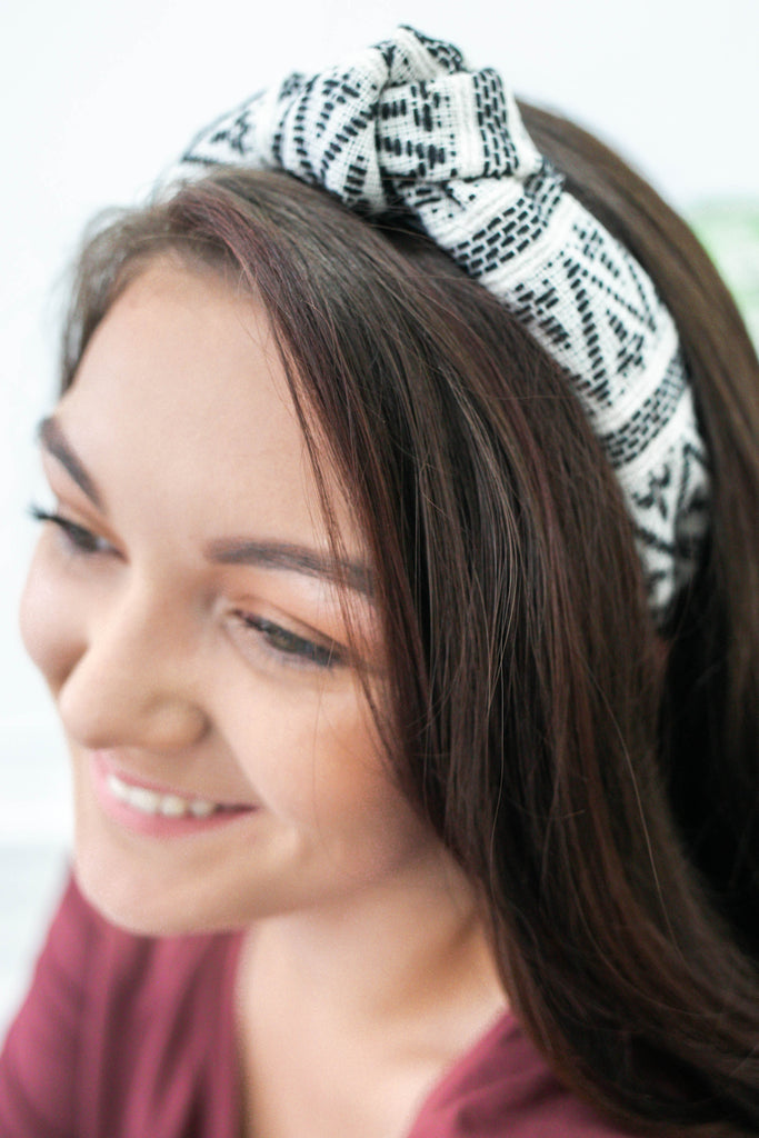 Tribal Print Headband | Stylish & Affordable | UOI Online