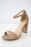 SHINER-S Faux Suede High Heels - Online Clothing Boutique