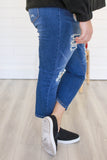 Plus Size Distressed Denim - Online Clothing Boutique
