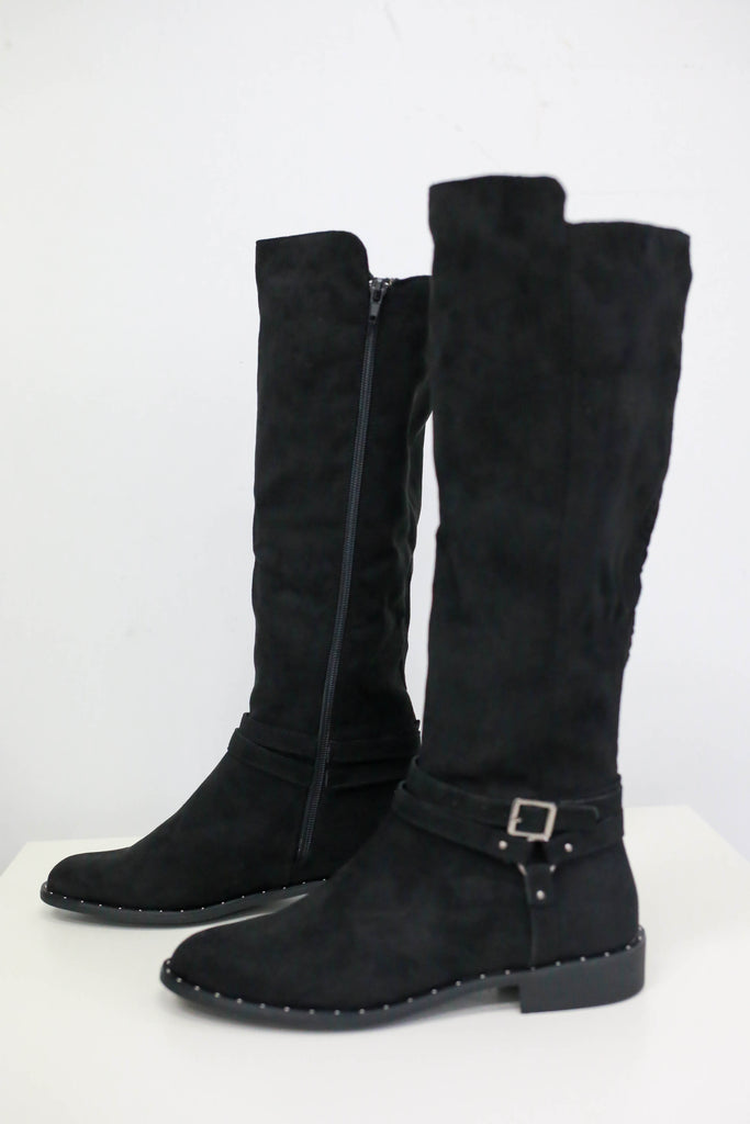 Knee-High Riding Boots - Online Clothing Boutique