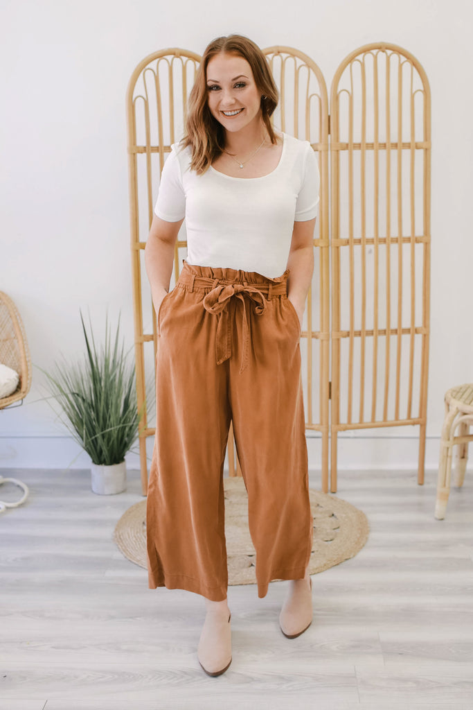Paper Bag Waist Pants | Stylish & Affordable | UOI Online