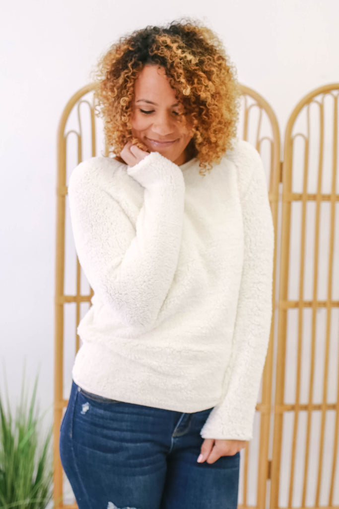 Faux Fur Sweater | Stylish & Affordable | UOI Online