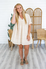 Short Sleeve Babydoll Dress | Stylish & Affordable | UOI Online