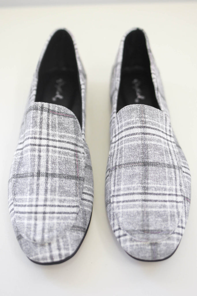 Plaid Loafers | Stylish & Affordable | UOI Online