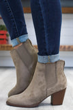 Faux Suede Ankle Booties | Stylish & Affordable | UOI Online